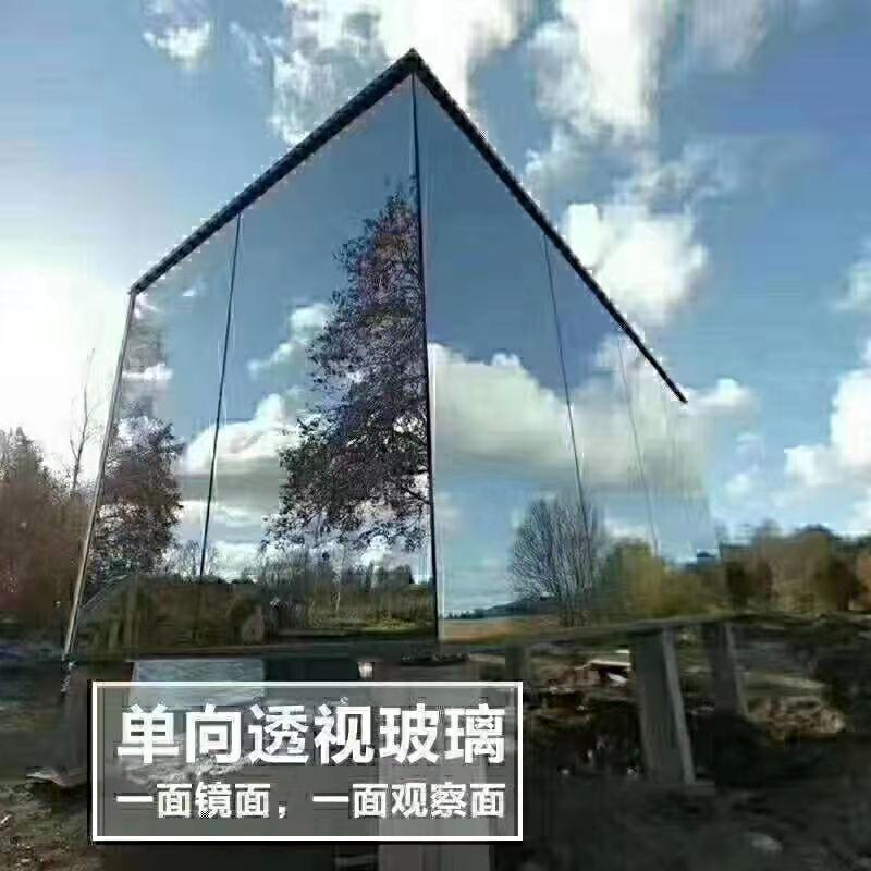 张家口某建筑合作单向透视玻璃系列图