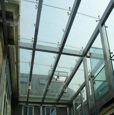 中空钢化玻璃展示品