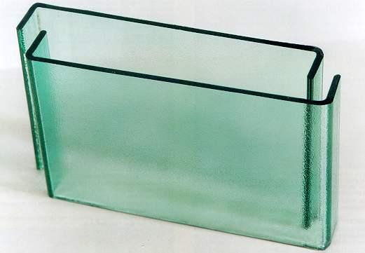 U型玻璃展示品