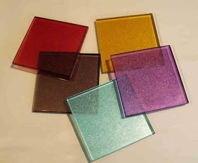 烤漆玻璃展示品