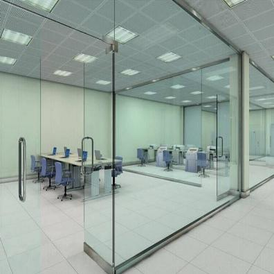 分析在办公室安装玻璃隔断的种类都有哪些?