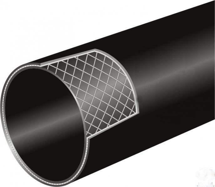 西安PE钢丝网骨架生产