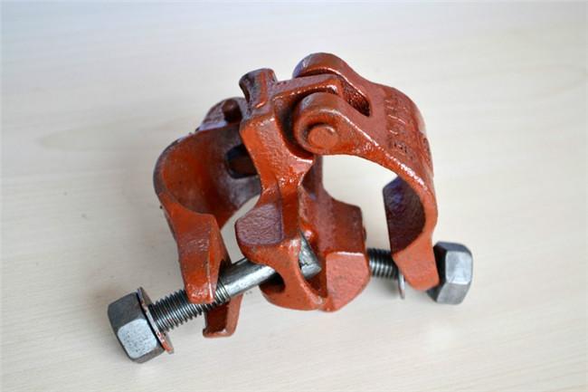 钢管租赁扣件安装过程