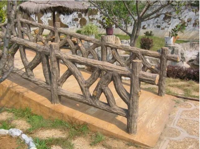 成都仿木栏杆制作流程