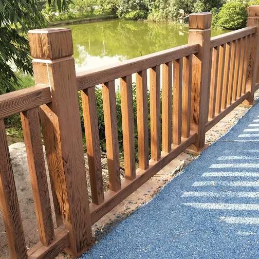 你知道怎么选择成都仿木栏杆吗?