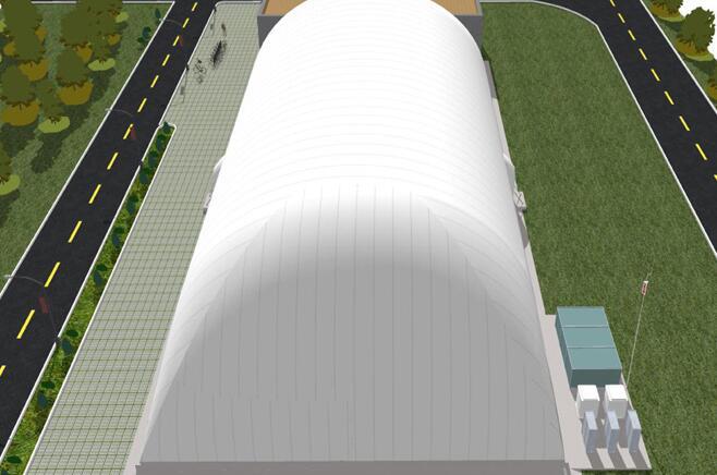 兰州膜结构体育馆的建设周期较短是为什么?
