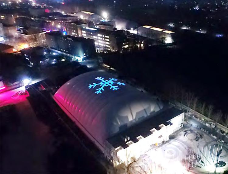 气膜冰球馆