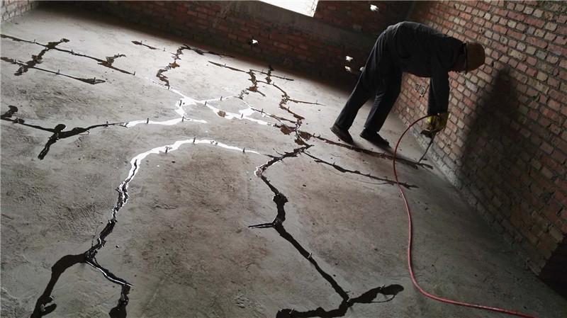 四川裂缝修复碳纤维加固项目其二