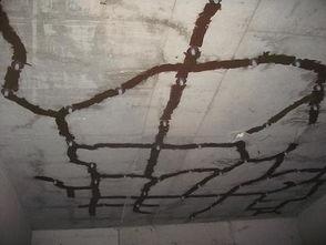 四川裂缝处理之墙面裂缝补修方法