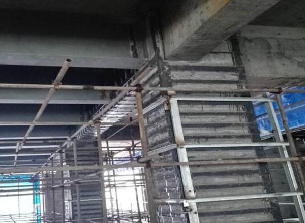易上·国际金融中心1、2F大堂结构加固工程