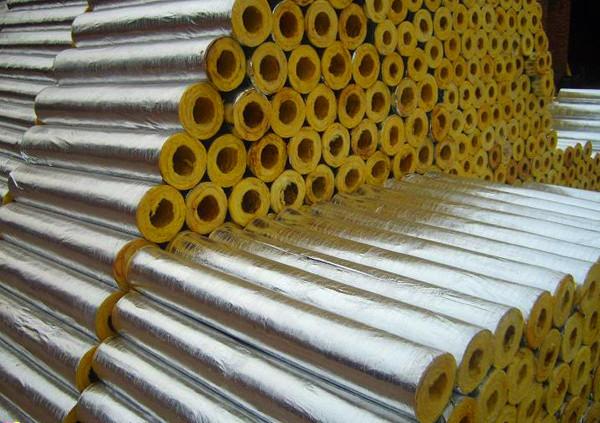 宁夏玻璃棉厂家直销   离心玻璃棉管