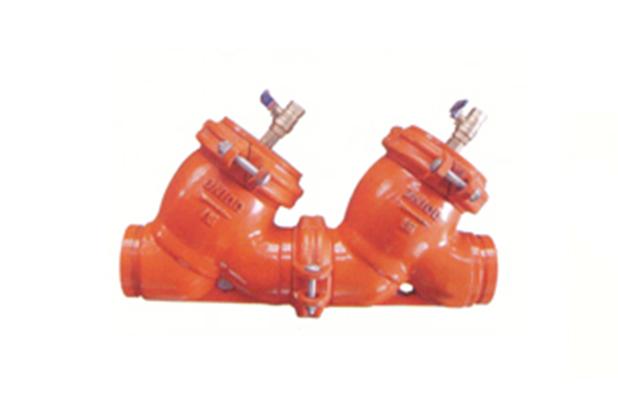 SJKW型沟槽式防污隔断阀