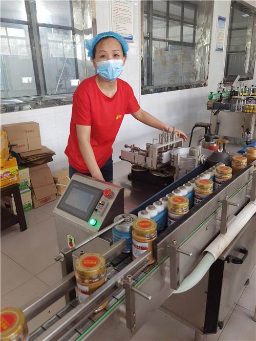 西阳香芝麻酱生产过程实景