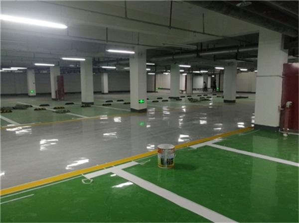 河南停车场划线施工
