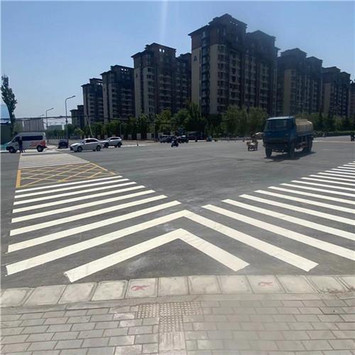 郑州道路划线案例