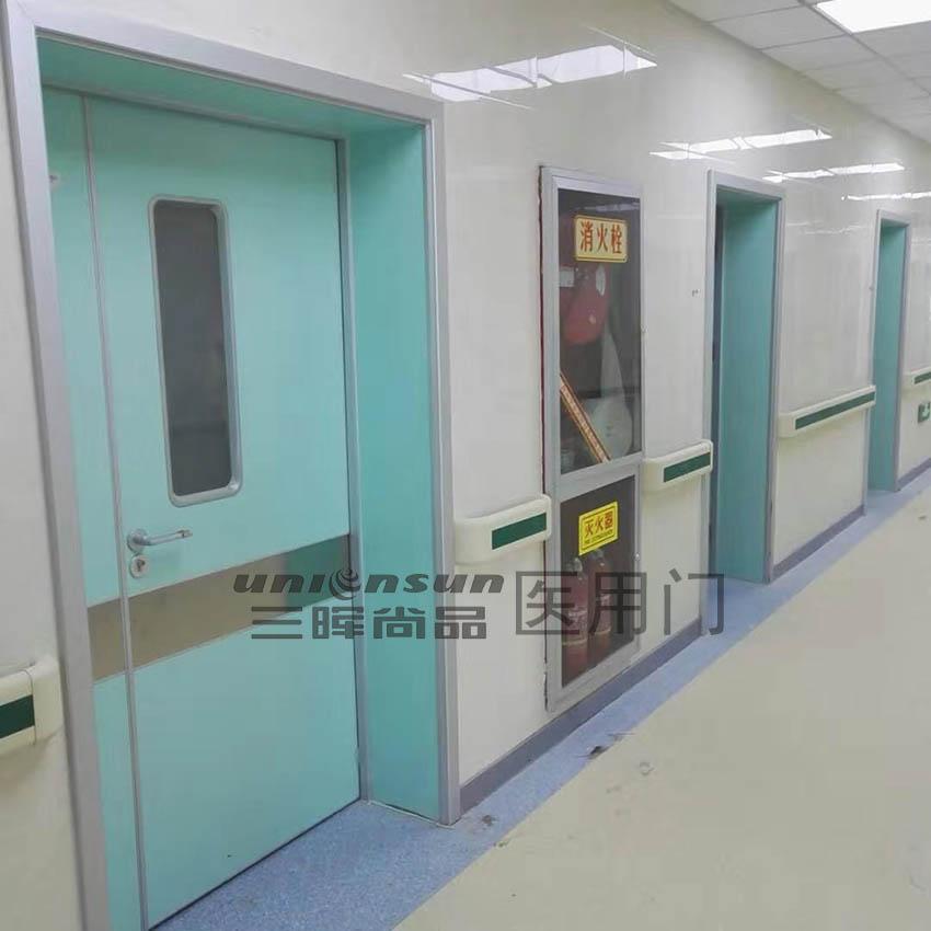 医院门门框安装过程的步骤详解
