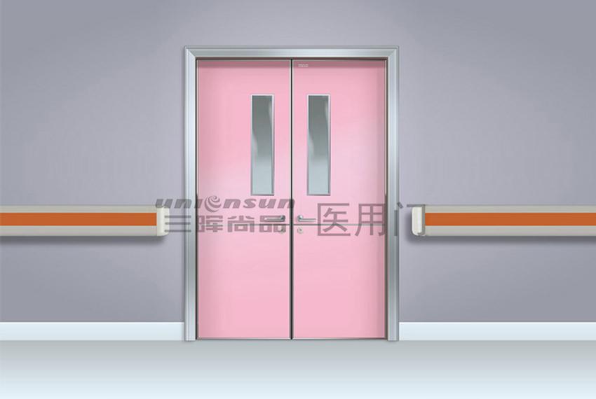 三晖尚品医用抗菌生态门在靖边中医院应用