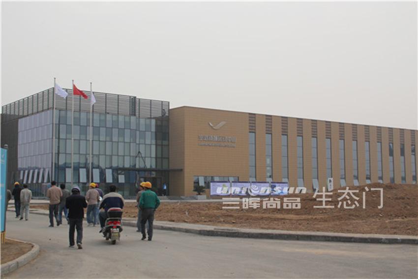 空港新城运动中心生态门应用