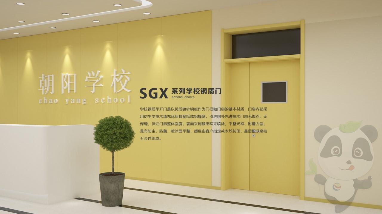 SGX-206学校钢质门教室门