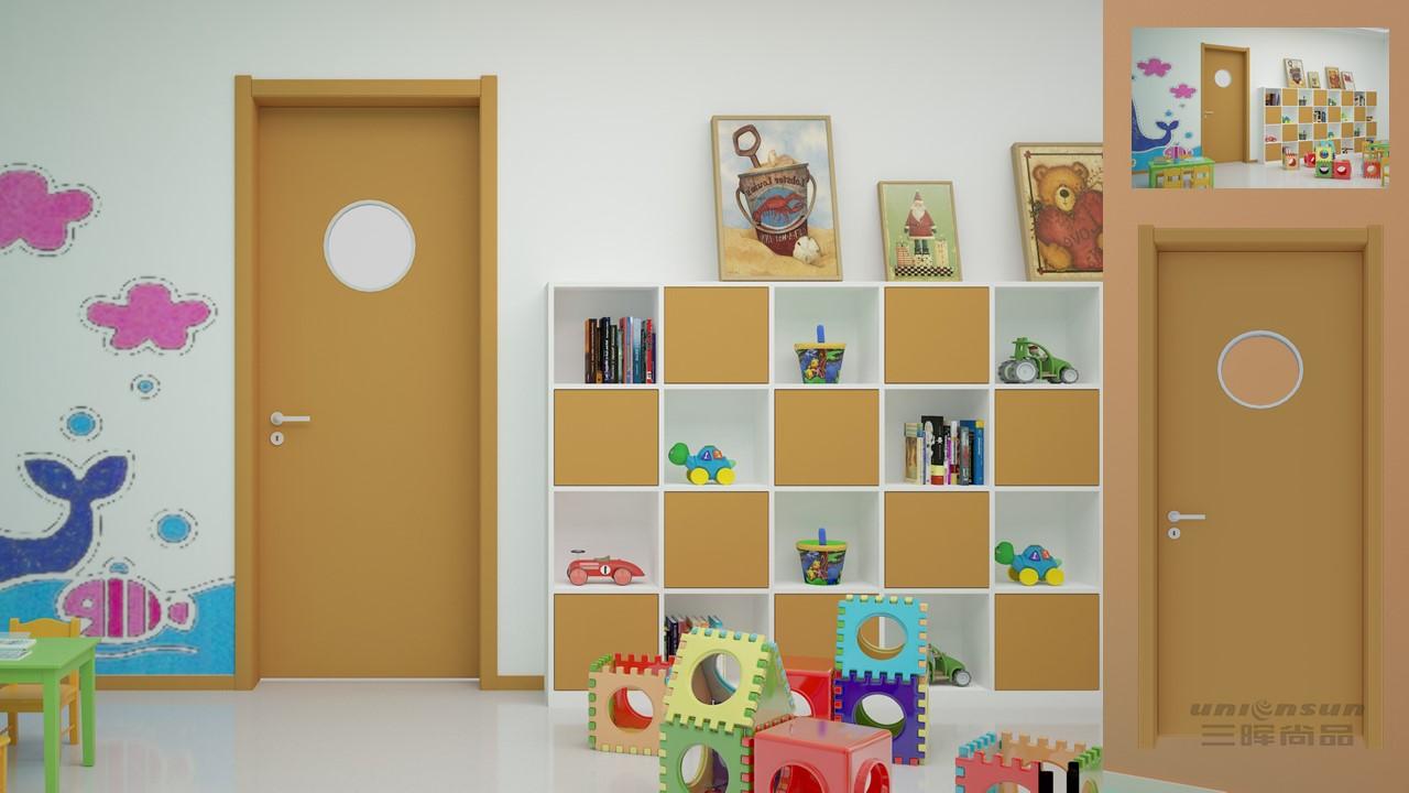 SGR-308幼儿园钢质门教室门