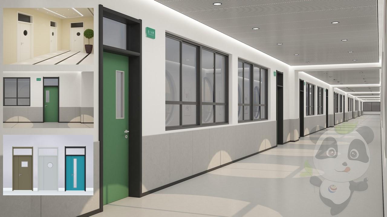 一款理想的教室专用门选择-SGX学校钢质门