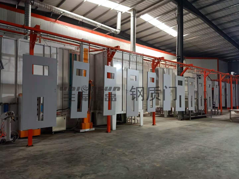三晖从原材料生产工艺讲解医院钢制门