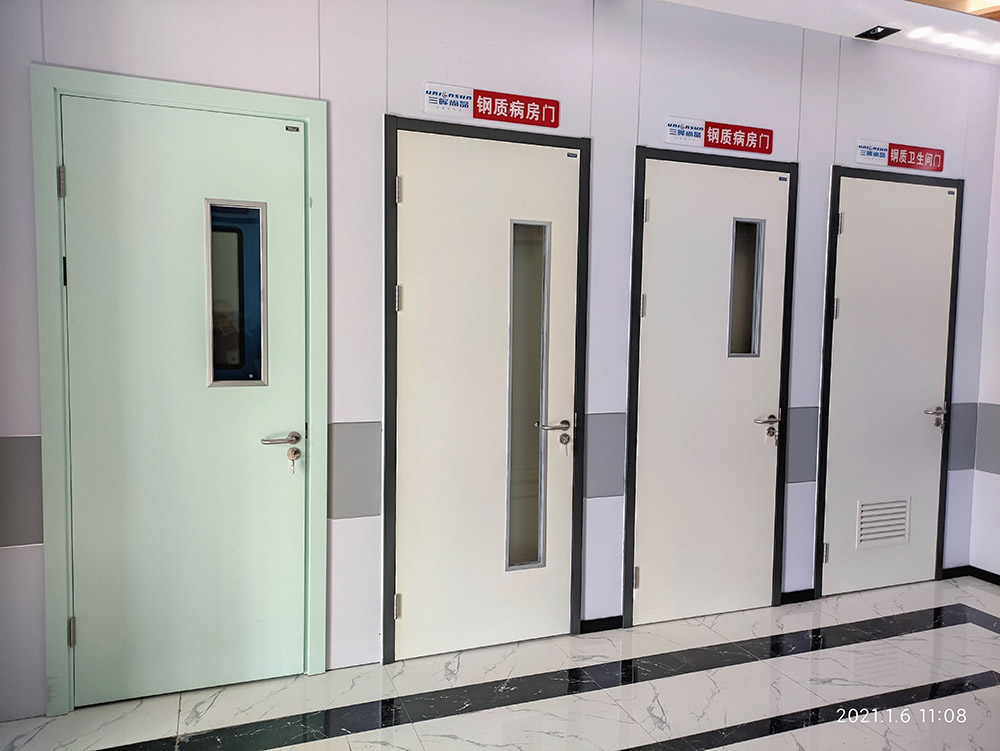 疫情防控已成为常态,钢质医用门的新标准化要求