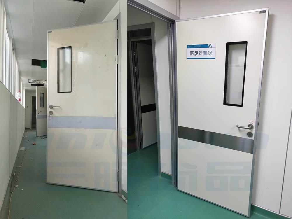 三晖尚品·医用气密门服役于西安市中心医院糖坊街院区