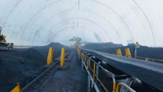 弘峰焦化煤场气膜封闭项目