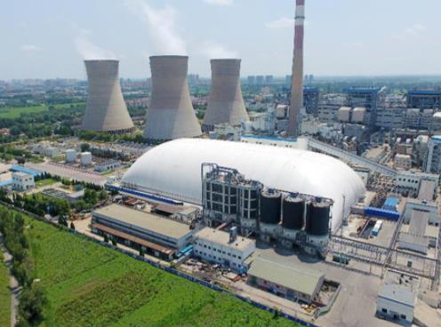 苏源充气膜结构在工业环保领域的应用