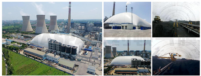 中国国电集团河北衡丰电厂气膜煤棚