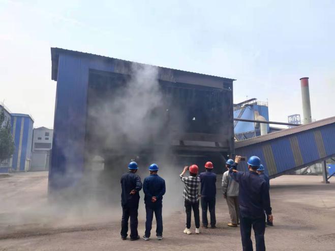 """苏源环境股份承建的""""山西美锦钢铁超低排放改造提升工程一期项目""""顺利通过竣工验收"""