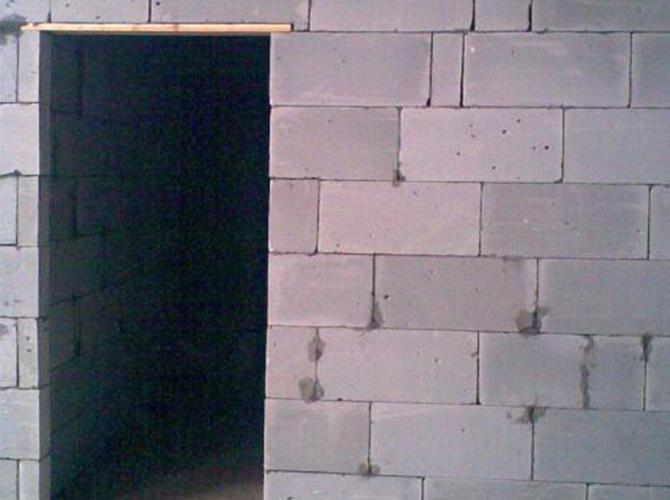 轻质隔墙砖施工