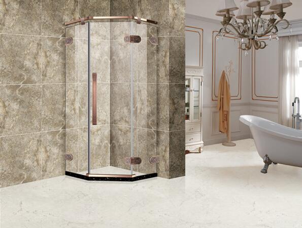 西安酒店淋浴房展示案例