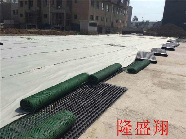 河南塑料排水板施工现场