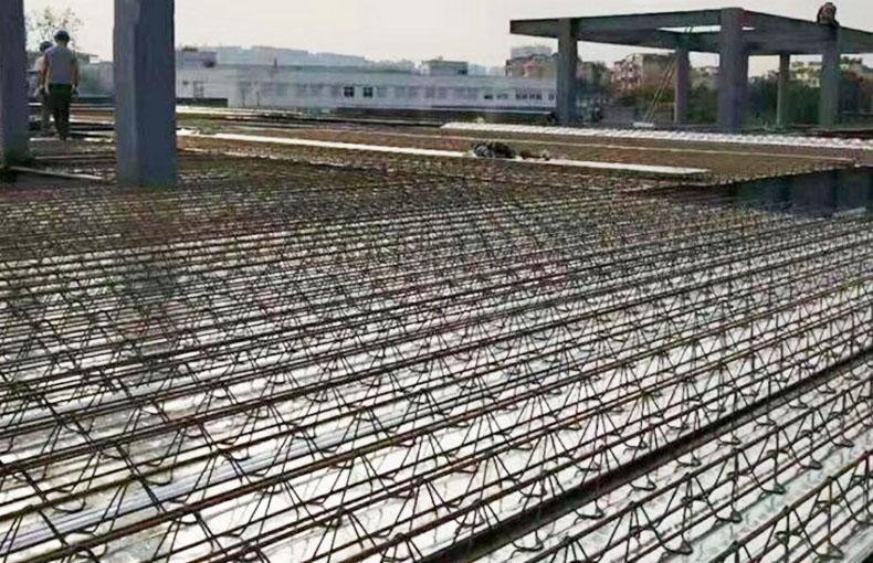 成都桁架楼承板搭设成功案例