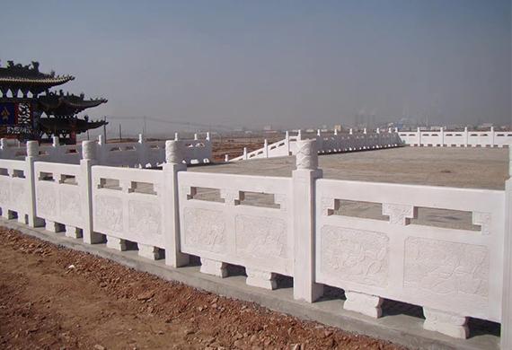 四川汉白玉栏板安装