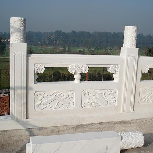 四川汉白玉栏板厂家分享汉白玉雕刻的等级划分知识