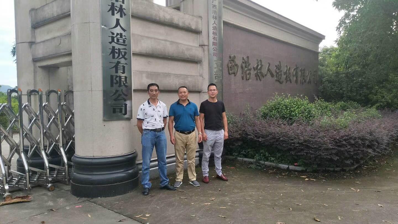 广西浩林人造板股份有限公司导热油炉清洗案例