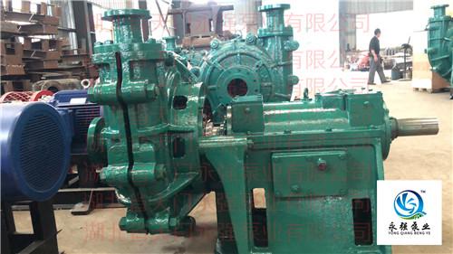 卧式渣浆泵整机系列
