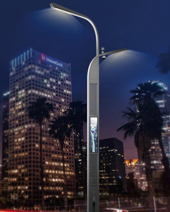 智慧照明路灯