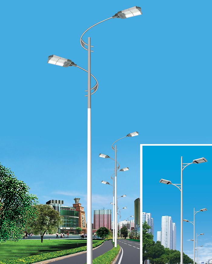 宁夏农村院子路灯
