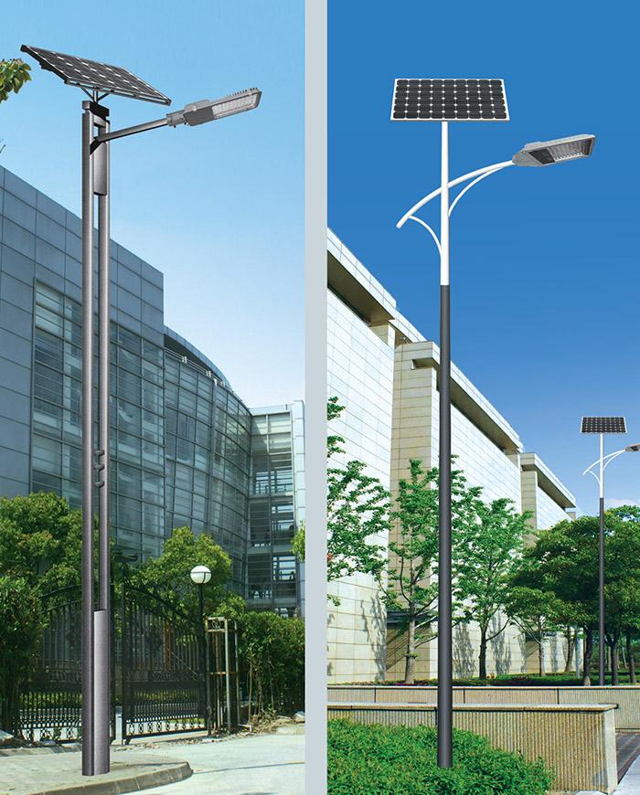 太阳能路灯展示