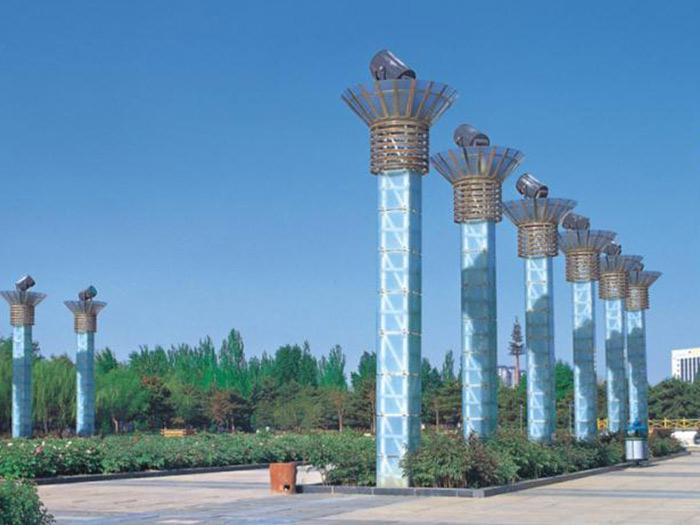 中海城景观灯安装案例