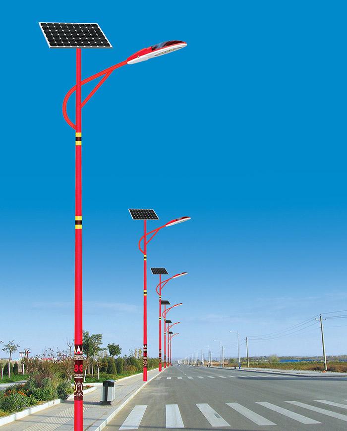 太阳能路灯图片展示