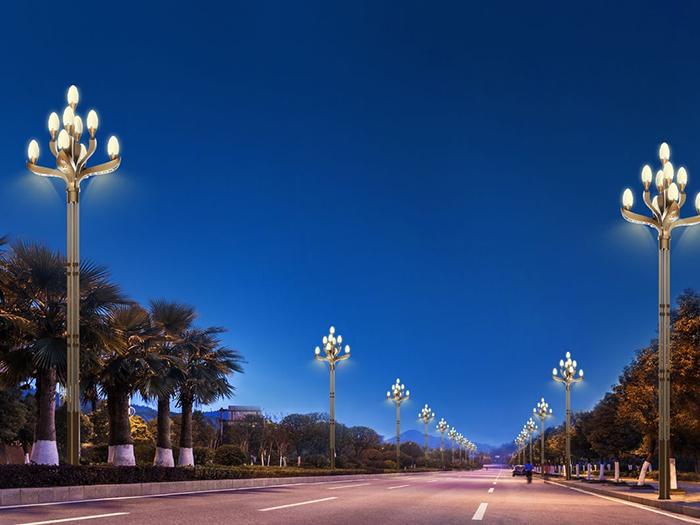 园林景观灯安装图例展示