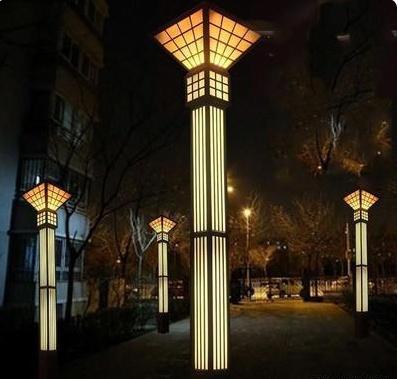 银川园林景观灯