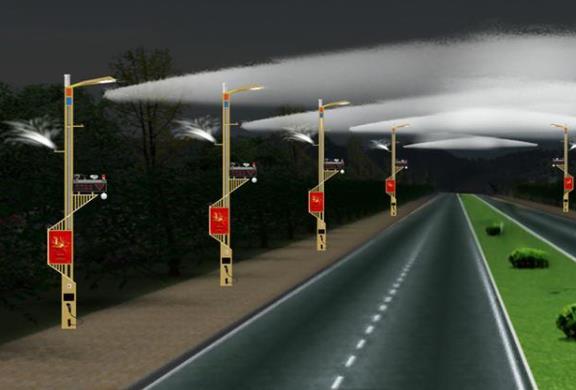 智能路灯图片