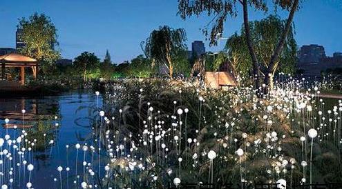 园林景观艺术灯在风景园林景观设计中的重要性作用
