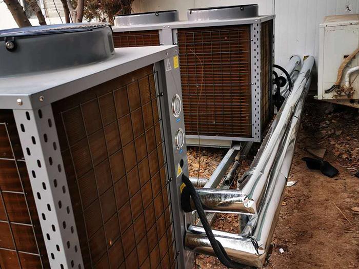空气源热泵安装图例展示